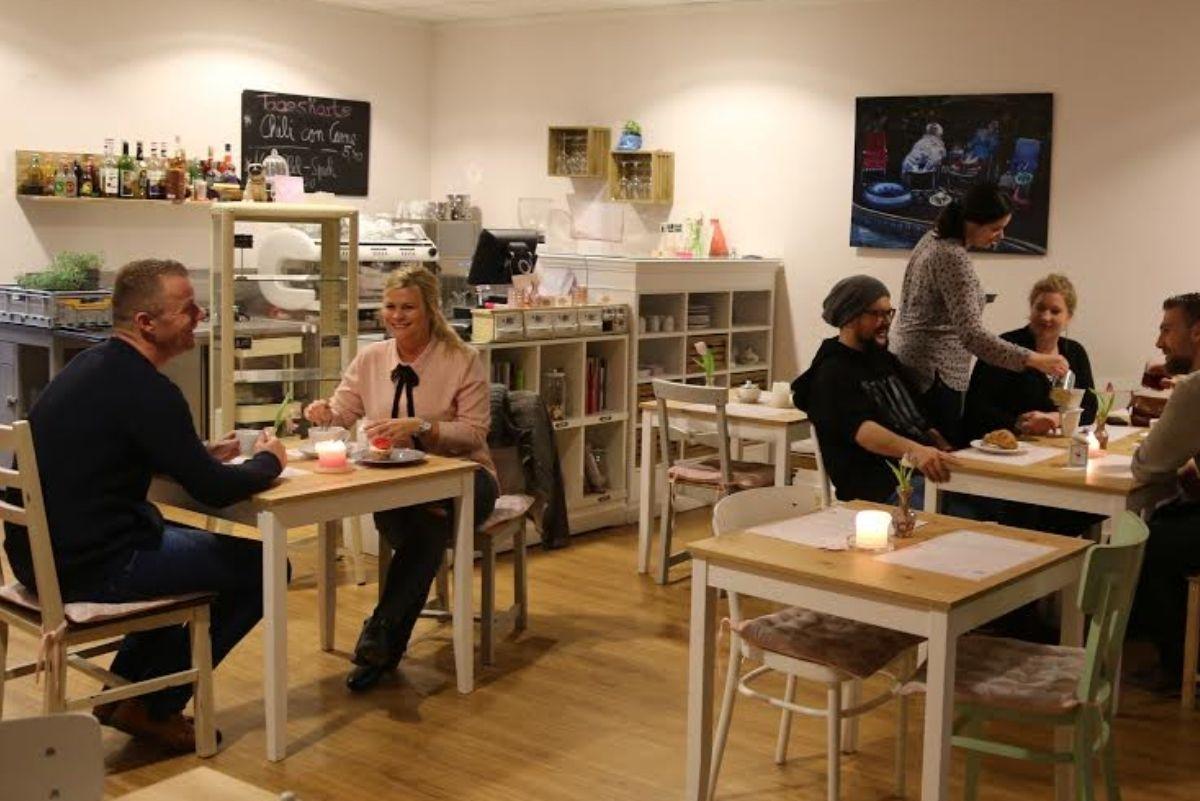 Innenansicht im Café Nordhörnchen