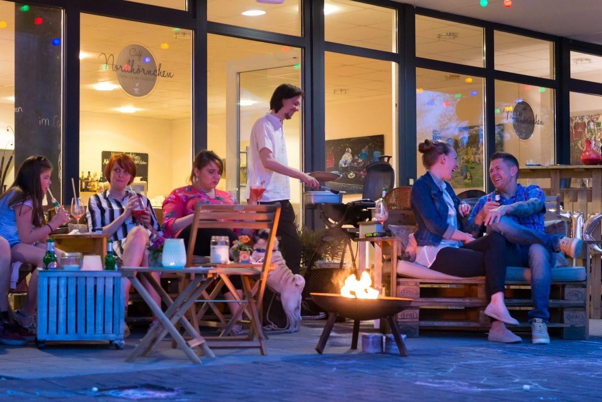 Café Nordhörnchen in der Corona-Krise